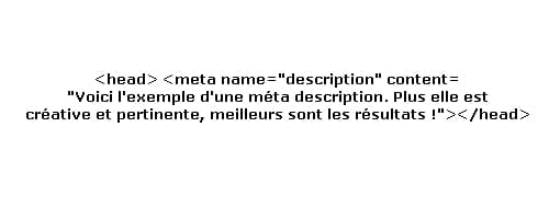 méta description